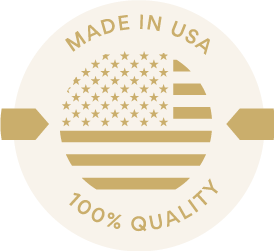 Made in USA - 100% Quality